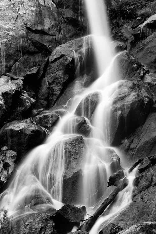 Waterfall, shot with a tripod