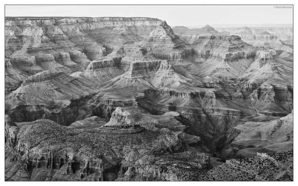 Grand Canyon BW