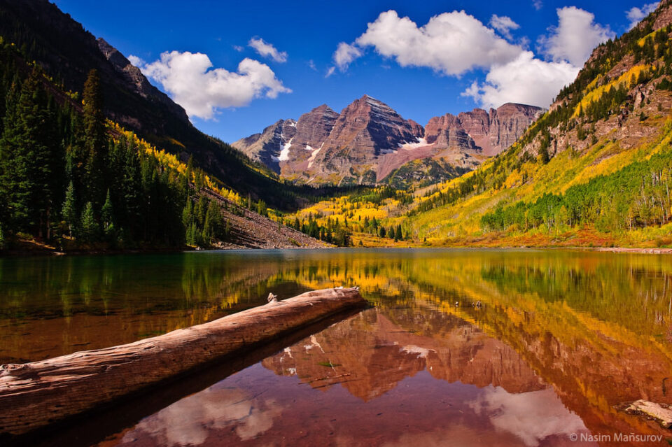 Maroon Bells - Reflection