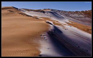 Dunes and Snow – Wallpaper