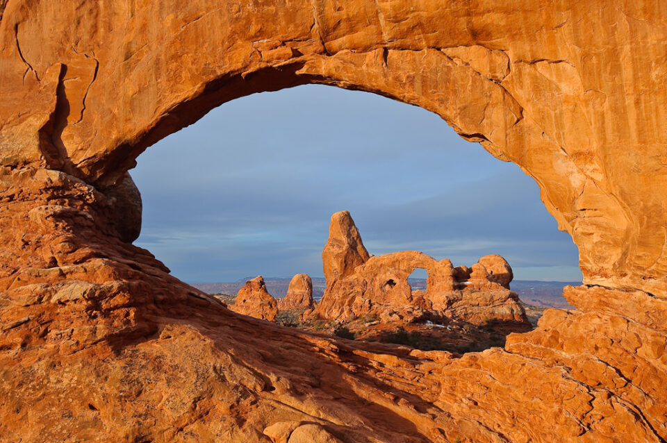 Window Arch at Sunrise
