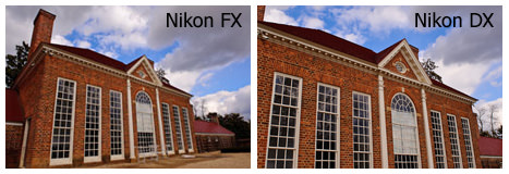 Nikon FX and DX - Field of View
