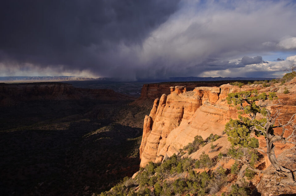 Sunset at Colorado National Monument
