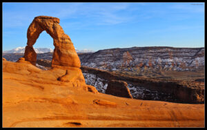 Sunrise and Delicate Arch Wallpapers