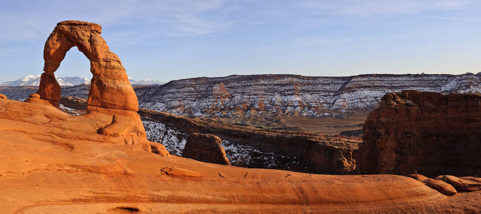 Delicate Arch Horizontal Panorama