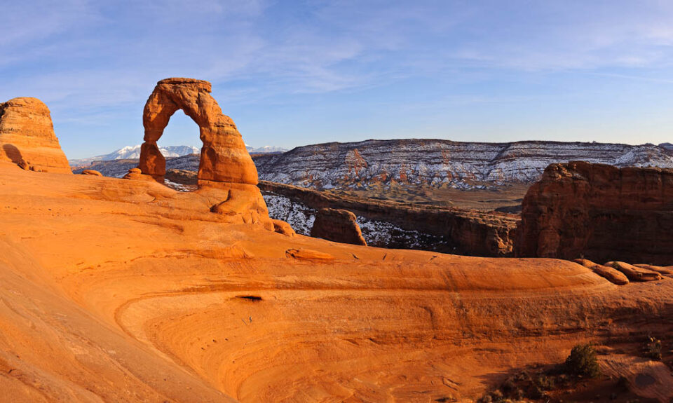 Delicate Arch Vertical Panorama