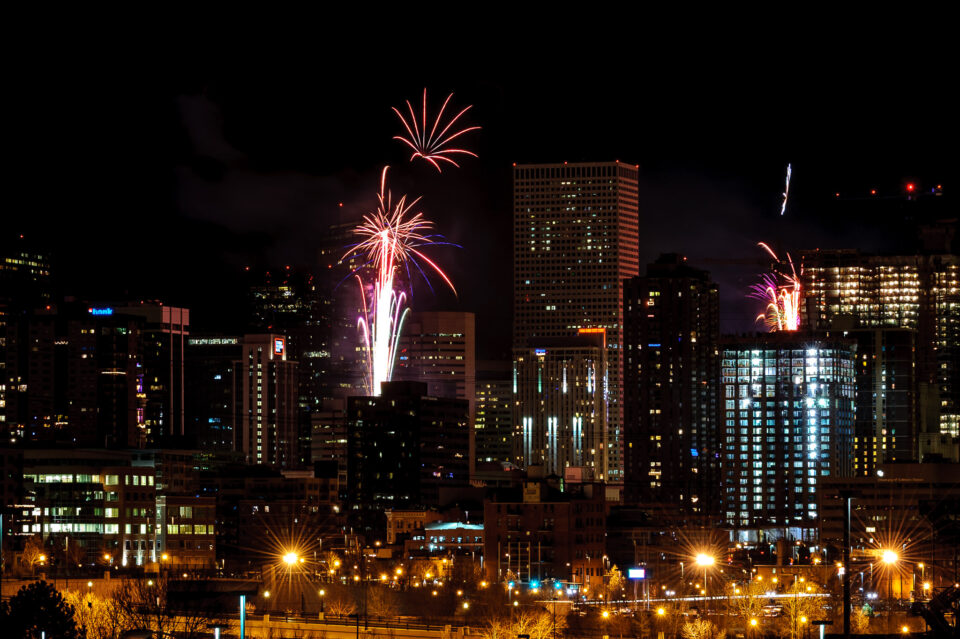 Denver Downtown Fireworks #2
