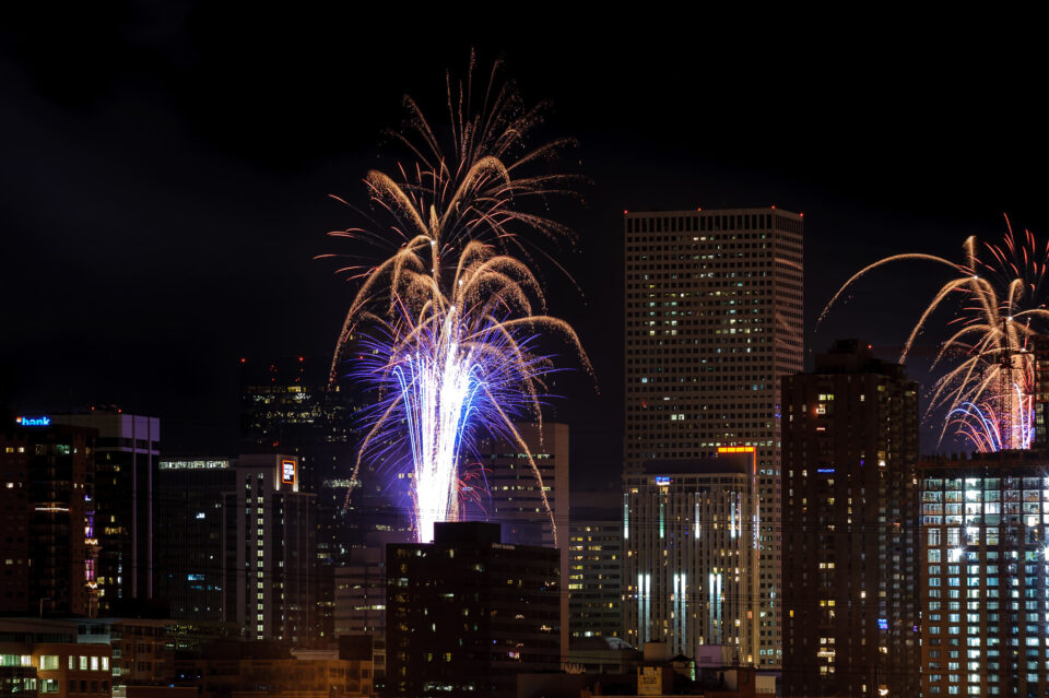Denver Downtown Fireworks
