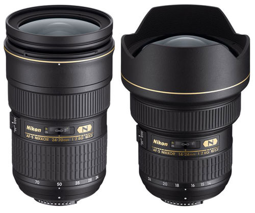 Nikon 24-70mm and Nikon-14-24mm Compared