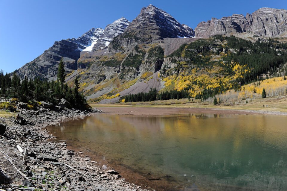 Clear Lake at Maroon Bells