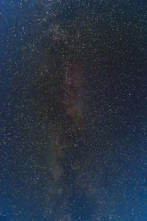 Milky Way with Colors