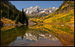 Maroon Bells at Night Wallpaper