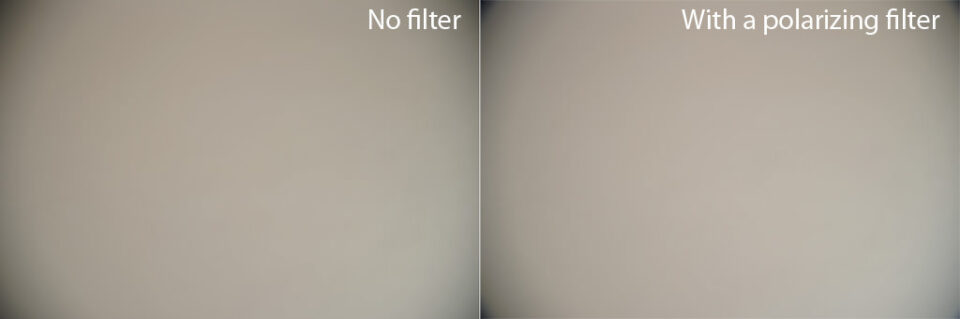 Nikon 24-120mm Vignetting with and without Filter