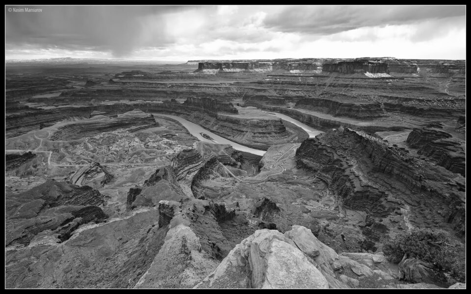 Dead Horse Point BW