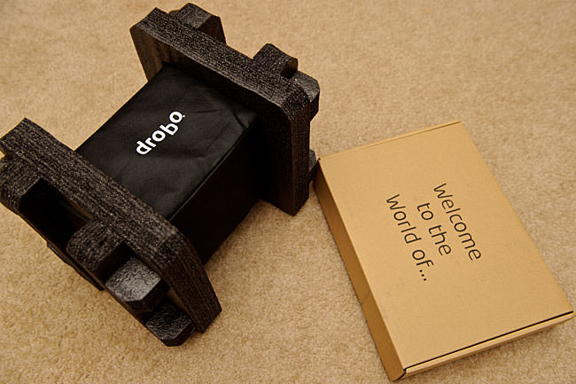 Drobo S Packaging