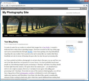 How to Create a Photography Blog – Part 3