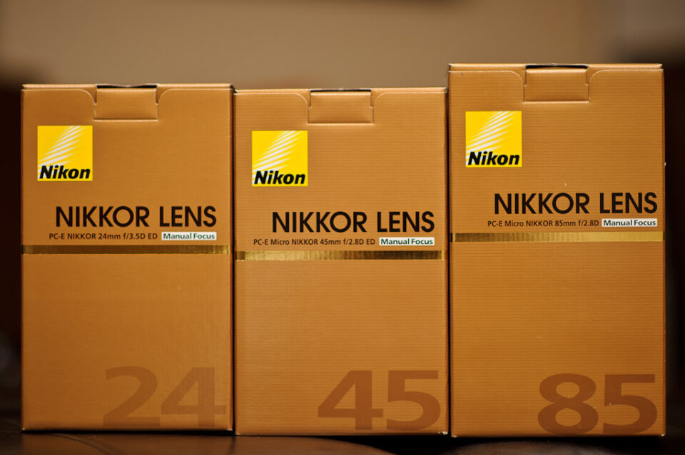 Nikon PC-E Lenses