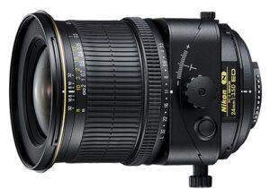 Nikon 24mm f/3.5D PC-E Review