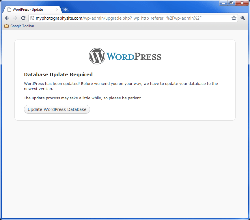 WordPress Update 4