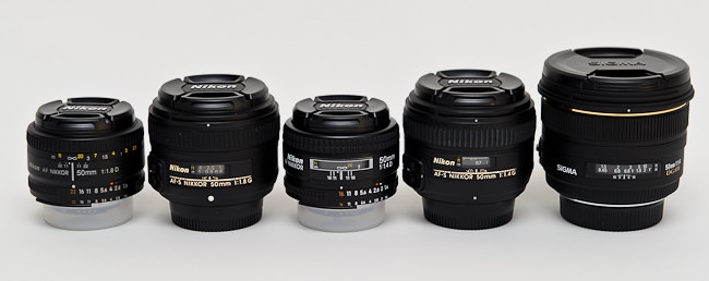 50mm Lenses Compared