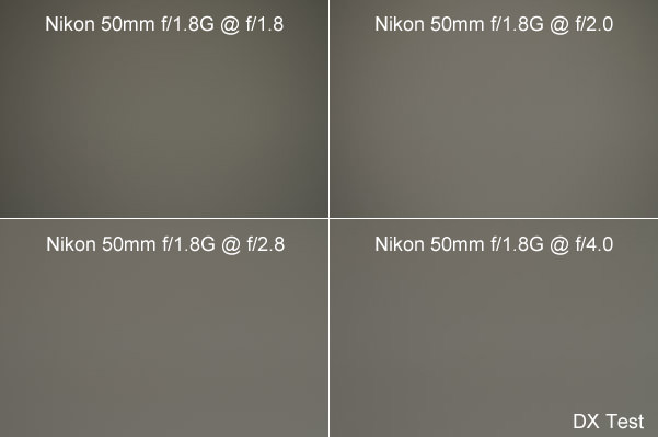 Nikon 50mm f/1.8G Vignetting on DX