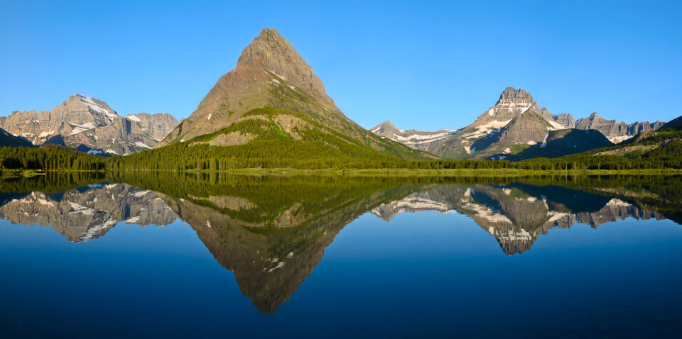 Glacier National Park Reflection
