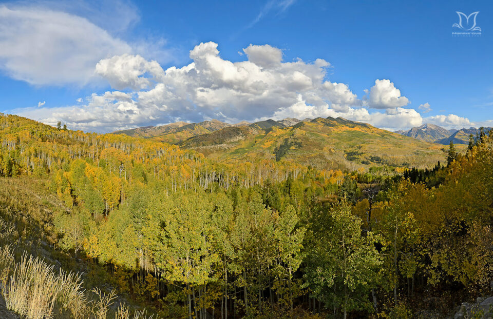 McClure Pass in Fall