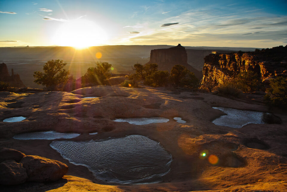 Sunset Canyonlands