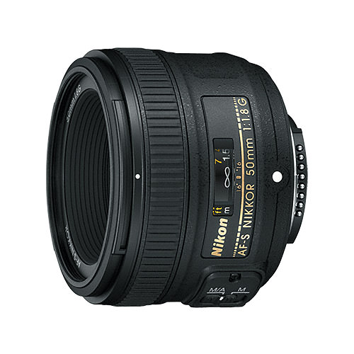 One of the most popular prime lenses for any camera company is the 50mm f/1.8. This one is Nikon's 50mm f/1.8G AF-S