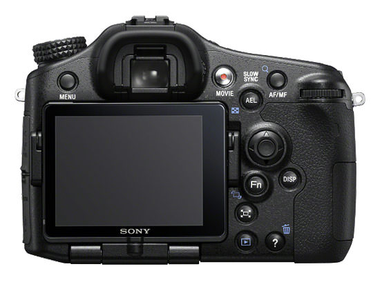 Sony A77 Back