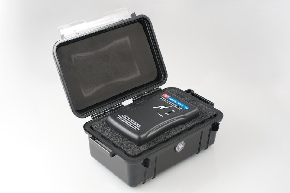 Pelican storage case for AEO Lightning Strike Pro