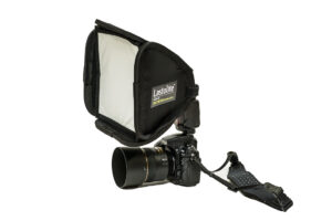 Lastolite EzyBox Speed-Lite on Speedlight
