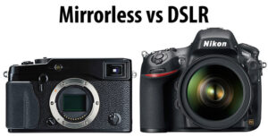 DSLR vs Mirrorless – Part Two