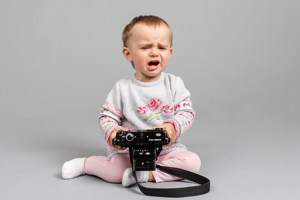 Fuji X-Pro1 Autofocus Makes Babies Cry