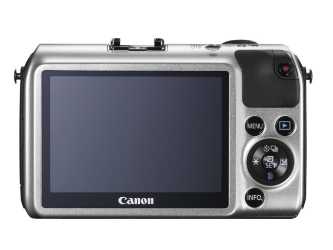 Canon EOS M back view