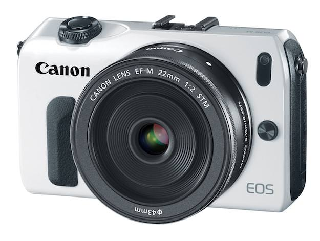 Canon EOS M front view