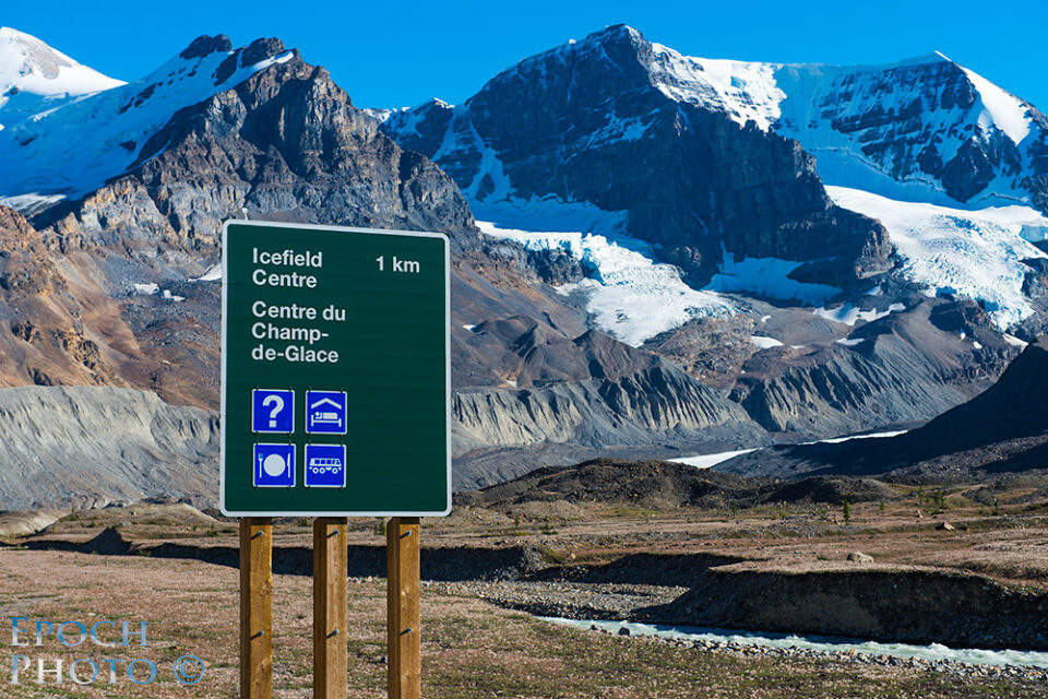 Columbia-Icefields-Sign