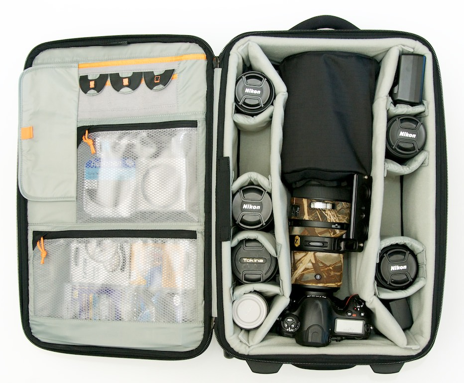 Lowepro Pro Roller x200 with contents