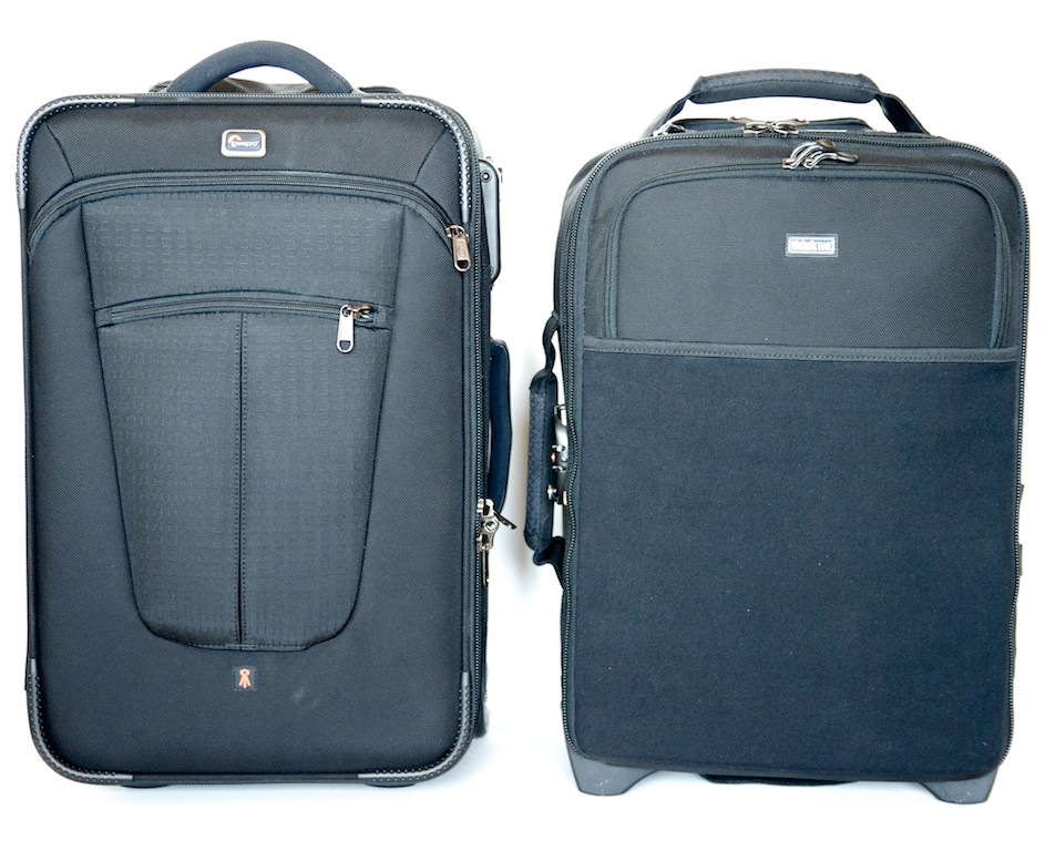 Lowepro Pro Roller x200 vs. the think Tank Airport International v2.0 Roller Bag