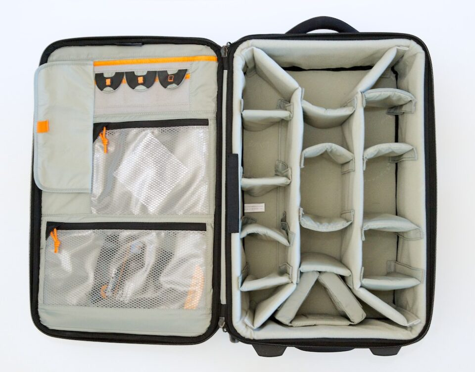 Inside the Lowepro Pro Roller x200