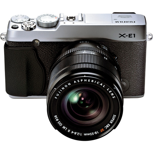 Fujifilm X-E1 with 18-55mm lens