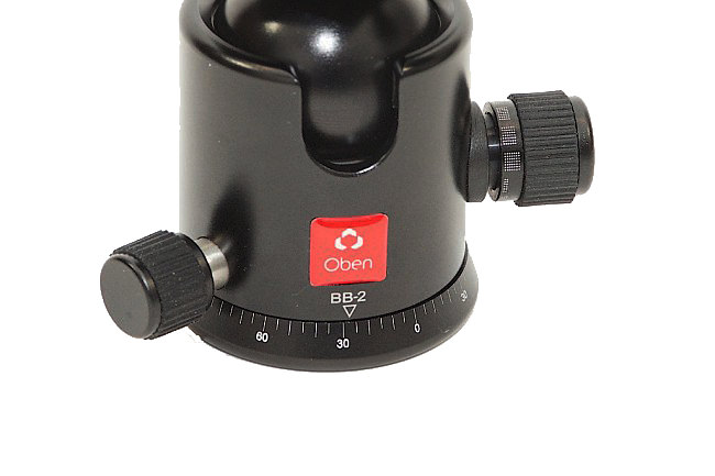 BB-2 Ball head base with indexing marks
