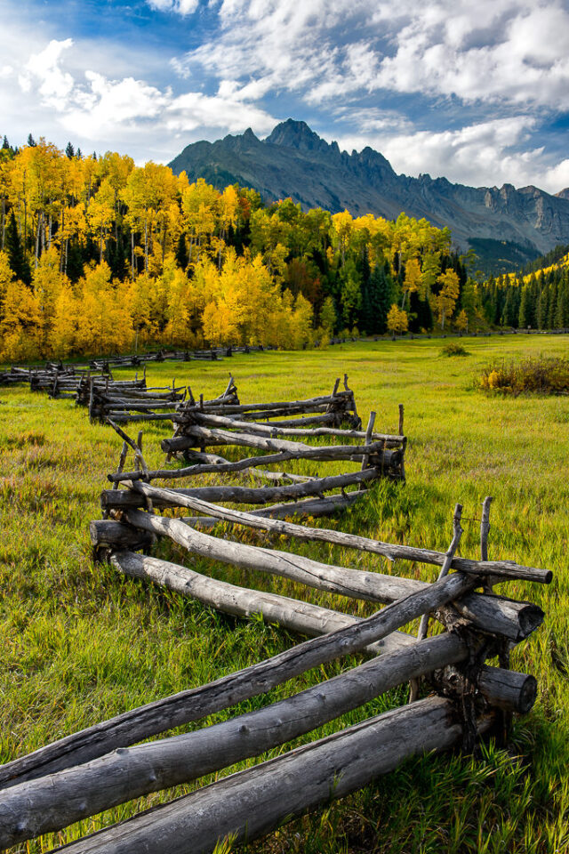 San Juan Mountains Fence