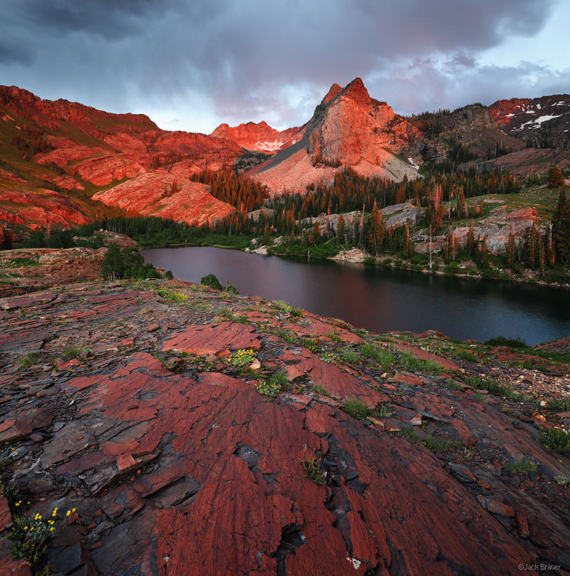 Sundial Peak Sunset