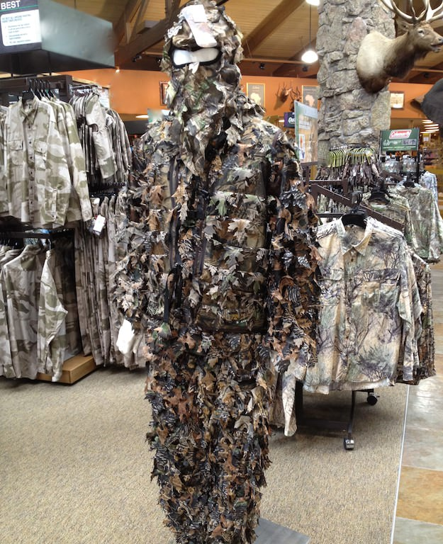 Camo Ghillie Suit