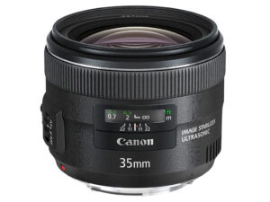 Canon 35mm f2 IS Lens