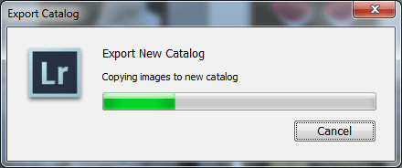Export New Catalog