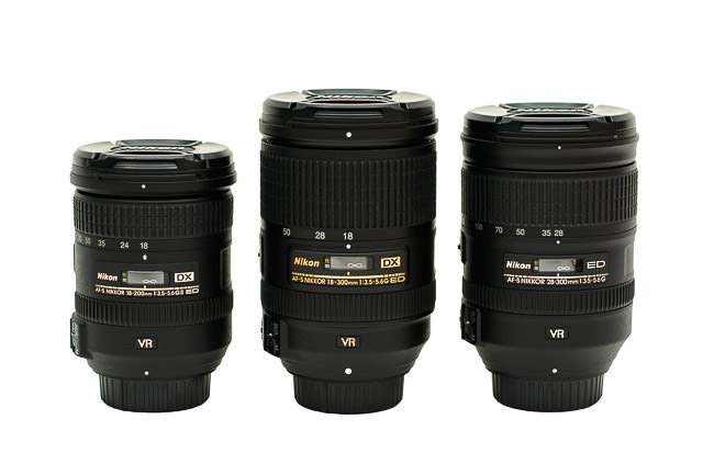 Nikon Superzoom Comparison