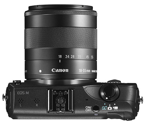 Canon EOS M with 18-55mm Lens