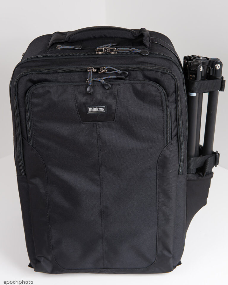 Airport Accelerator Backpack with smaller tripod